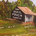 Ohio Mail Pouch Barn by Evelyn Froisland
