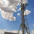 Oil Derrick I by Ricky Barnard