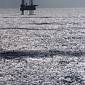 Oil Platform by Arno Massee