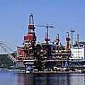 Oil Rig by Rod Jones