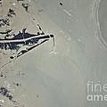 Oil Slick, Mississippi River Delta by NASA/Science Source