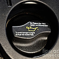 Oil Valve Cap by Photo Researchers