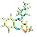 Olanzapine Antipsychotic Drug Molecule by Dr Tim Evans