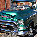 Old American Gmc Truck . 7d10665 by Wingsdomain Art and Photography