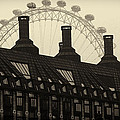 Old And New London by David Resnikoff