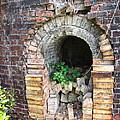 Old Antique Brick Kiln Fire Box by Kathy Clark
