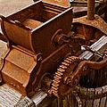 Old Apple Press 2 by Bill Owen