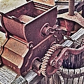 Old Apple Press 3 by Bill Owen