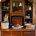 Old Bakers Cabinet by Carmen Del Valle