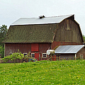 Old Barn On 264th. Street by Randy Harris