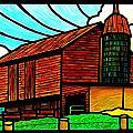 Old Barn On Keezletown Road by Jim Harris