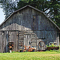 Old Barn South Of Brevard by Duane McCullough