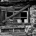 Old Barn Window by Perry Webster