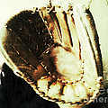 Old Baseball Glove by Ruby Hummersmith