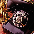 Old Bell Telephone by Garry Gay
