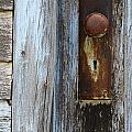 Old Blue Door 1 by Bob Christopher