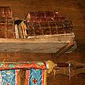 Old books in church