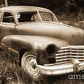 Old Caddy-sepia by Randy Harris