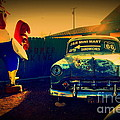 Old Chevrolet On Route 66 by Susanne Van Hulst