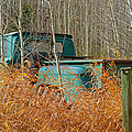Old Chevy In The Field by Randy Harris
