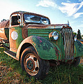 Old Chevy Tanker Truck by Steve McKinzie