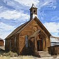 Old Church At Bodie by Dominic Piperata