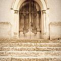 Old Church Door by Tom Gowanlock