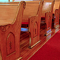 Old Church Pews by LeeAnn McLaneGoetz McLaneGoetzStudioLLCcom