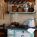 Old Cook Stove by Carmen Del Valle
