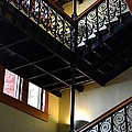 Old Courthouse Stairway by Angel Chovanec