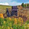 Old Cripple Creek Mine by Ellen Heaverlo