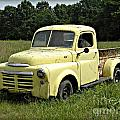 Old Dodge In Mo by Tisha Clinkenbeard