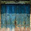 old door in China town by Setsiri Silapasuwanchai