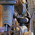 Old Drill Press by Randy Harris