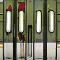 Old El Train Doors by Jill Battaglia