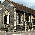 Old English Church Uxbridge Uk by Lynne Dymond
