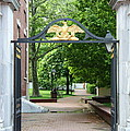 Old Entrance Gate - Philadelphia by Christiane Schulze Art And Photography