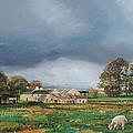 Old Farm - Monyash - Derbyshire by Trevor Neal