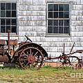 Old Farm Equipment by Donna Greene