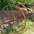 Old Farm Machine 3 by Rod Jones