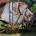 Old Farm Machine by Rod Jones
