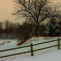Old Fashiion Winter by Edward Peterson