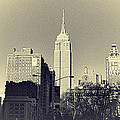 Old-fashioned Empire State Building by Alex AG