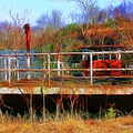 Old Ferry On The Cumberland by Ericamaxine Price