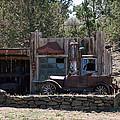 Old Filling Station by Athena Mckinzie