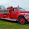 Old Firetruck by Brenda Becker