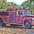 Old Firetruck by Douglas Barnard