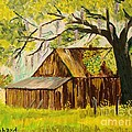 Old Florida Farm Shed by Bill Hubbard