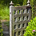 Old Garden Entrance by Heiko Koehrer-Wagner