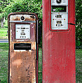 Old Gas Station Pumps by Paul Ward